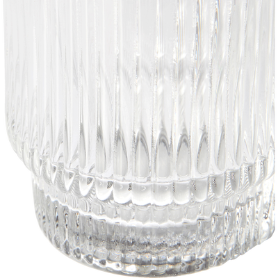 Gobelet en verre strié 29,5cl-VAVIN