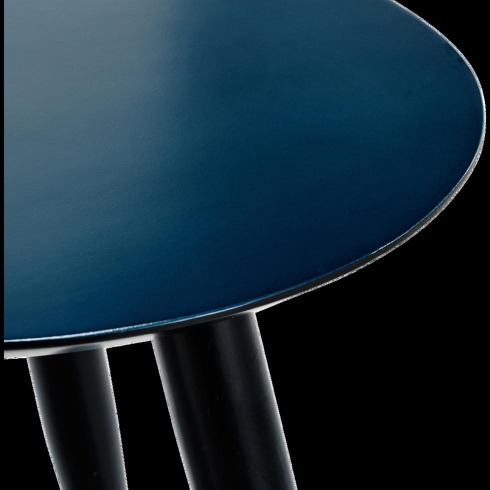 Table basse bleu figuerolles-ECTOT