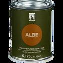 Peinture acrylique mate multi-supports 0.125L Brun albe-PEINTURE