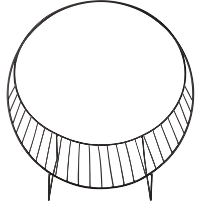 Porte-revues en acier gris calabrun-CLOS