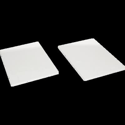 Lot de 2 tablettes pour armoire L90 cm-DELIA