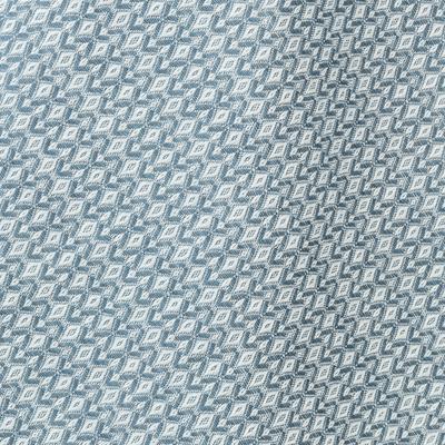 Nappe en coton bleu 170x250cm-YASMINA