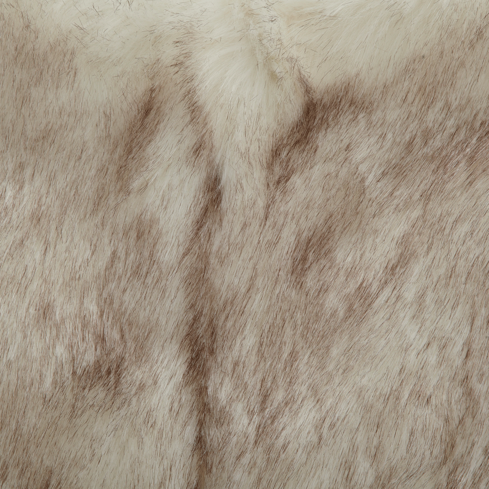 Housse de fauteuil butterfly fourrure synthétique blanche-BUTTERFLY