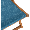 Chilienne à motif bleu figuerolles-UDINE