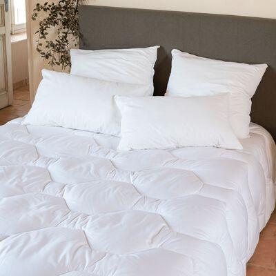 Couette hiver confort en Tencel et coton - 240x220 cm-Confort lux