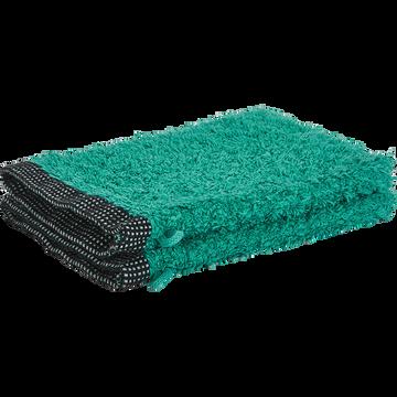Gant coton et lin 16X21cm vert menthe-ADONI