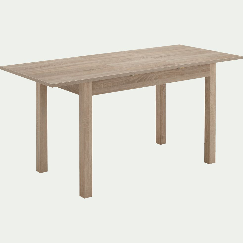 Table De Repas Extensible Rectangulaire 4 A 6 Places Tenor
