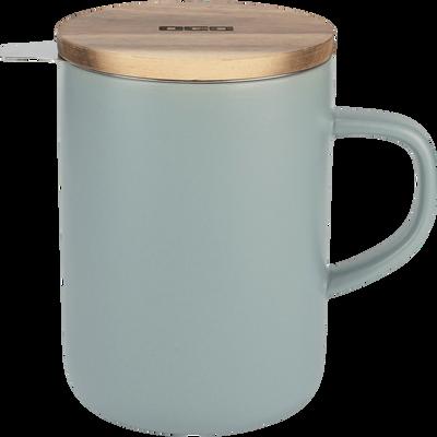 Tisanière en grès gris 47,5cl-ASSAM