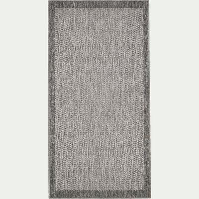 Tapis intérieur et extérieur - gris 80x150cm-Bastian