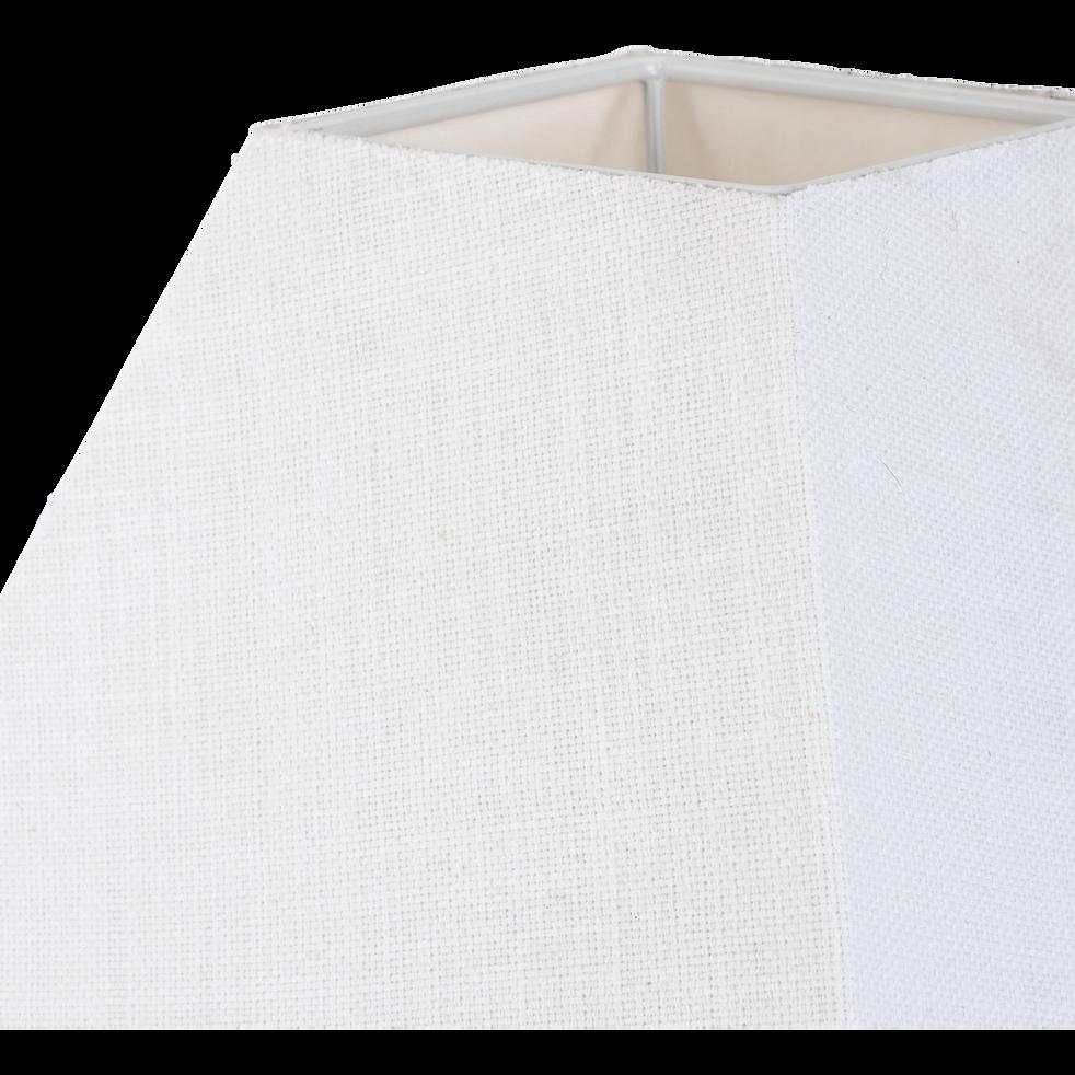 Abat-jour carré blanc capelan-MISTRAL