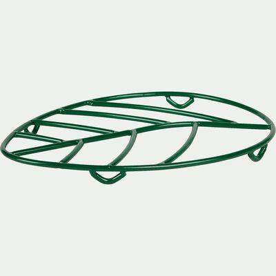 Dessous de plat en métal filaire vert-NAHO