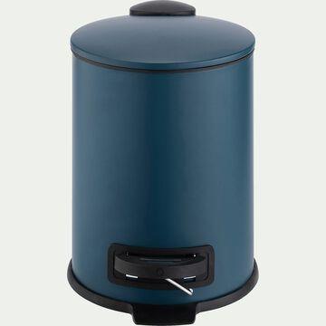 Poubelle en fer - bleu 3L-LUDER