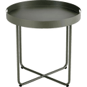 Table basse acier vert cèdre-CLEMENCE