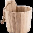 Sceau en bois de balsa clair-RETZ