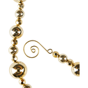 Guirlande de Noël en plastique doré 179cm-AURE