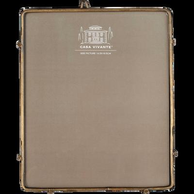 Cadre photo en métal cuivré 15x18cm-ALPHONSE