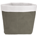 Panier de rangement L30xH40cm vert cèdre-RUA