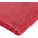 Serviette en coton 50x100cm rouge arbouse-AZUR