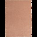 Tapis shaggy rose argile 120x170cm-CELAN