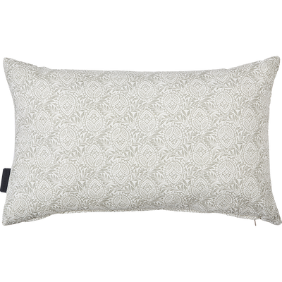 Coussin d'extérieur déperlant blanc ventoux 50x30cm-Trayas