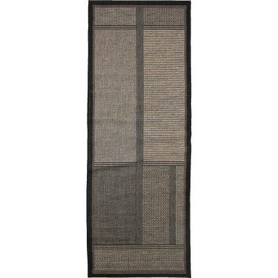 Tapis de couloir gris foncé 80x230cm-CORREDOR