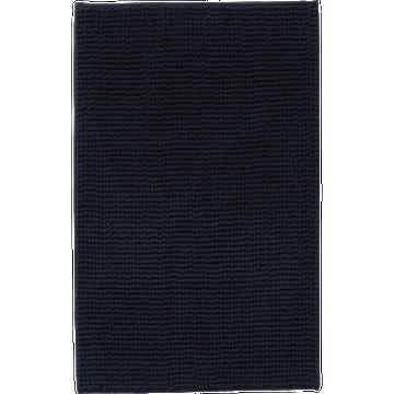 Tapis de bain 50x80 bleu marine-PICO