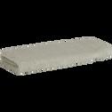 Serviette invité en coton 30x50cm vert olivier-AZUR