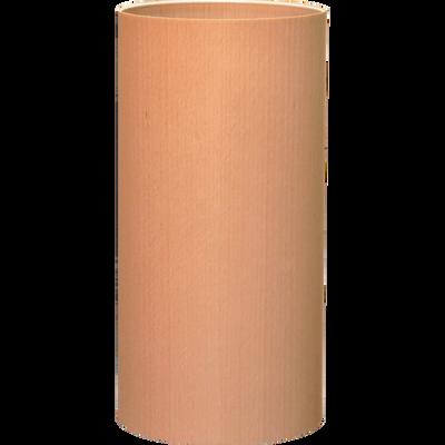 Abat-jour cylindrique en bois de placage hêtre D16cm-NATURE