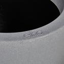 Cache-pot gris en plastique H46xD43cm-ALLURE