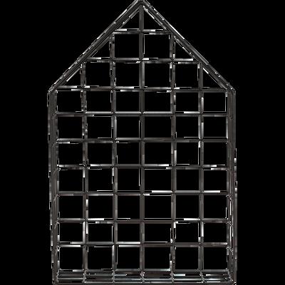 Étagère murale en fer noire-DOM