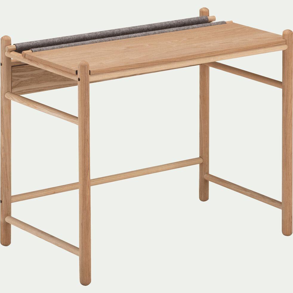 Bureau enfant en bois et feutrine-THEOULE