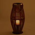 Lanterne en bambou D28xH60cm-NAN
