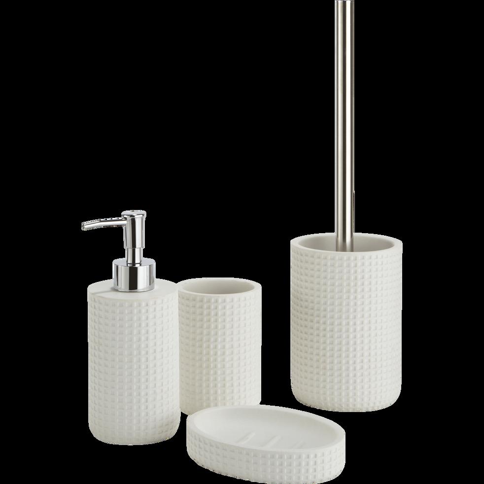 Balai et porte-balai WC blanc ventoux-LOUBET