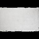 Tapis Shaggy écru 60x110cm-CLOUD