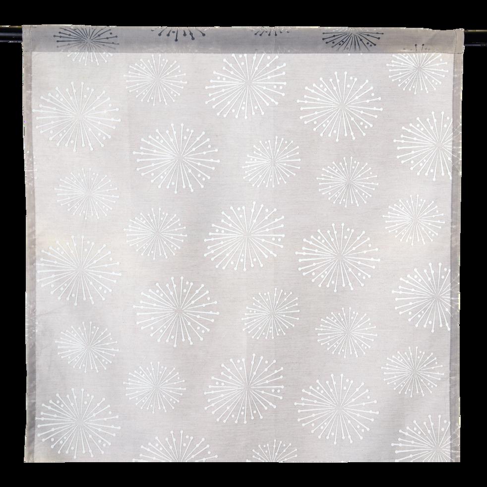 Cloison japonaise grise 60x120cm-Stars
