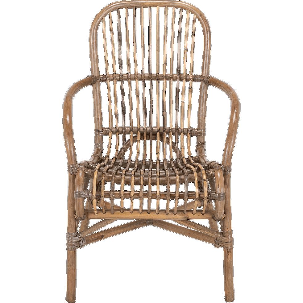 fauteuil en rotin naturel come fauteuils de jardin. Black Bedroom Furniture Sets. Home Design Ideas