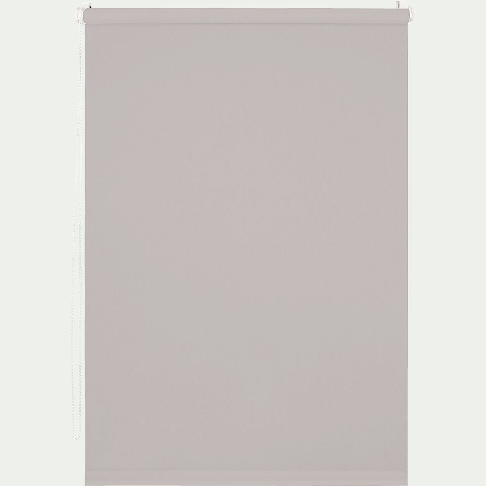 Store enrouleur tamisant gris clair 37x170cm-EASY TAM