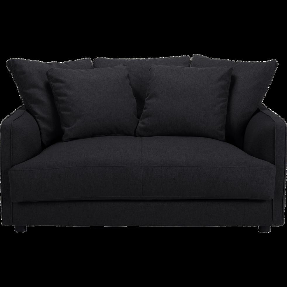 canap 2 places convertible en tissu gris restanque lenita canap s en tissu alinea. Black Bedroom Furniture Sets. Home Design Ideas