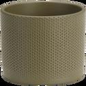 Pot en céramique vert (plusieurs tailles)-ERA