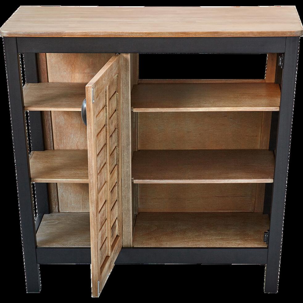 meuble de salle de bains en acacia massif 90cm pitaya 90 cm meubles sous vasques alinea. Black Bedroom Furniture Sets. Home Design Ideas