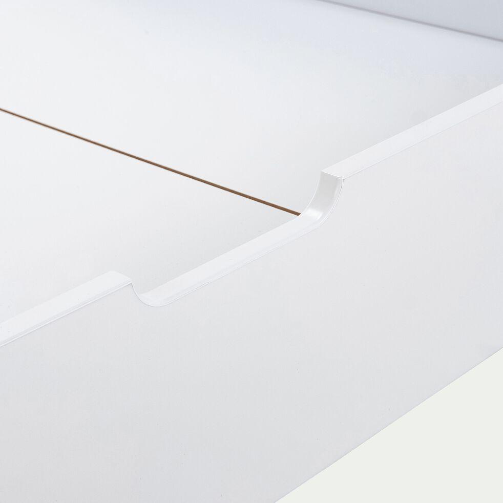 Tiroir de lit en bois - blanc-JAUME