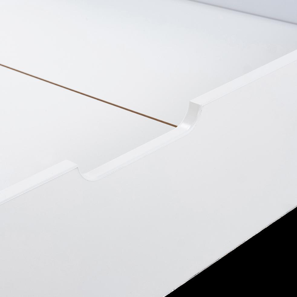 Tiroir lit en bois blanc-JAUME