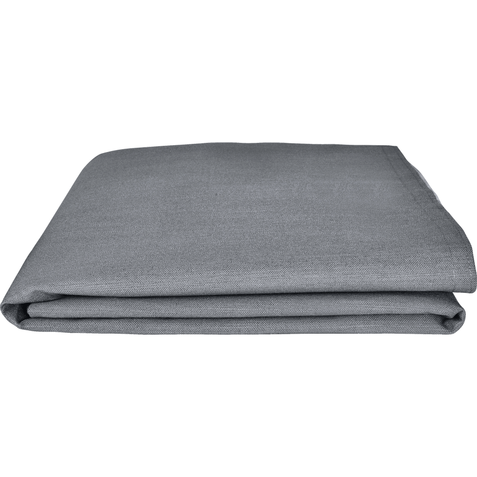 Housse pour tête de lit Topaze Gris restanque - L90 cm-TOPAZE