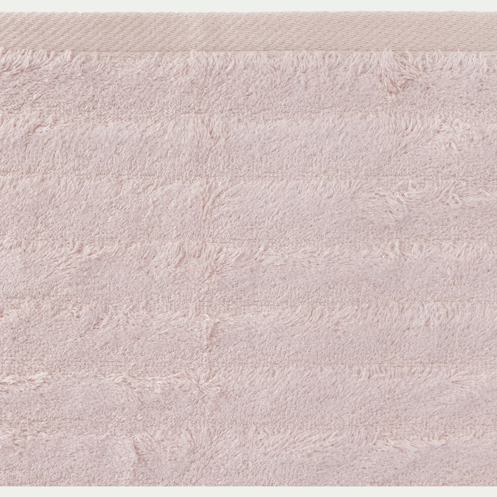 Linge de toilette rose grège-AUBIN