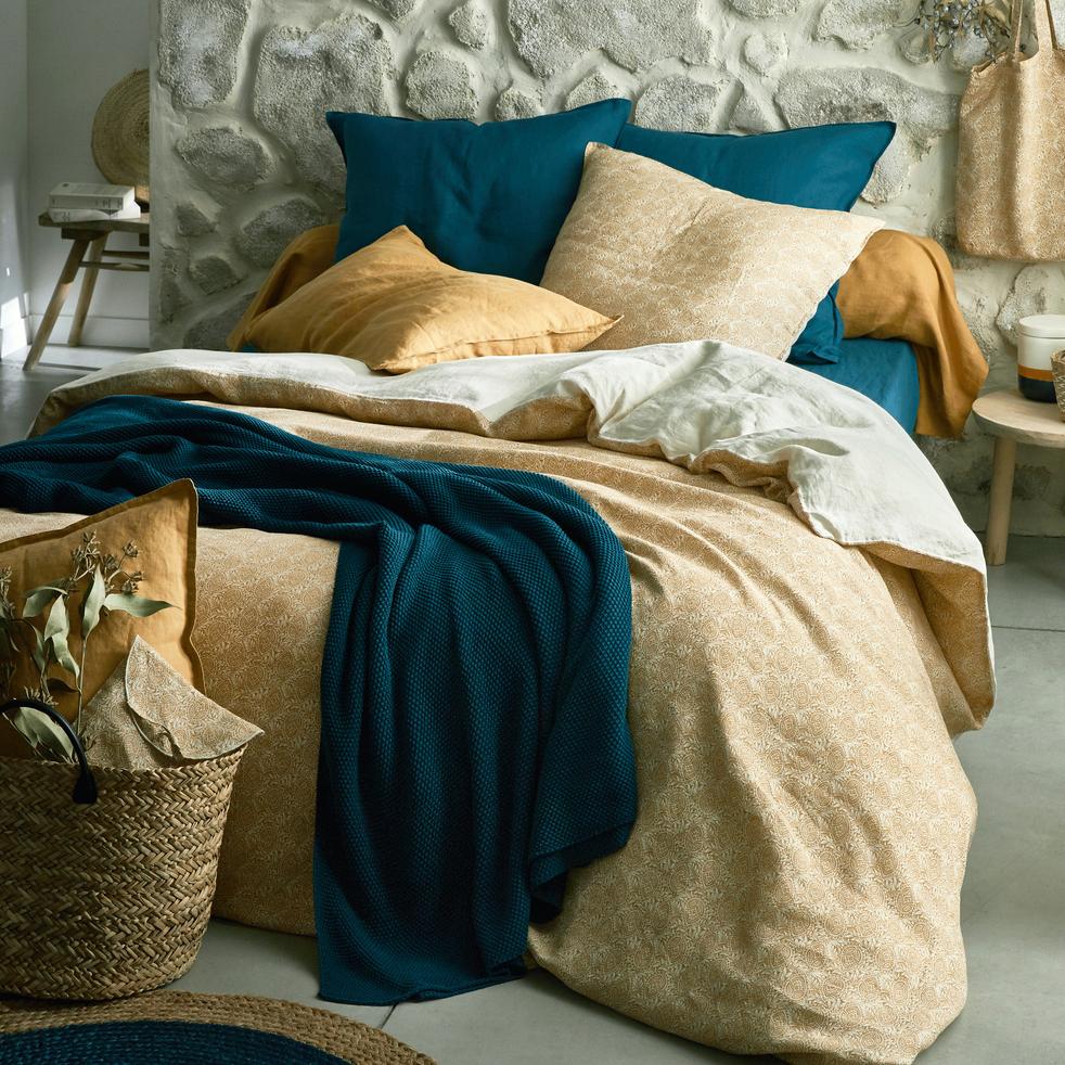collection lin goya et bleu figuerolles linge de lit lin. Black Bedroom Furniture Sets. Home Design Ideas
