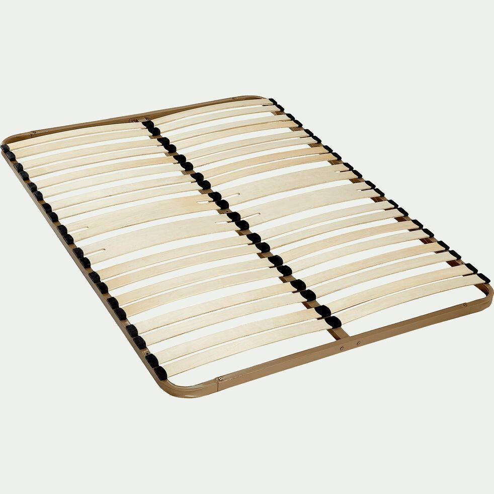Sommier cadre à lattes Alinéa 5 cm - 140x190 cm-KIT 18
