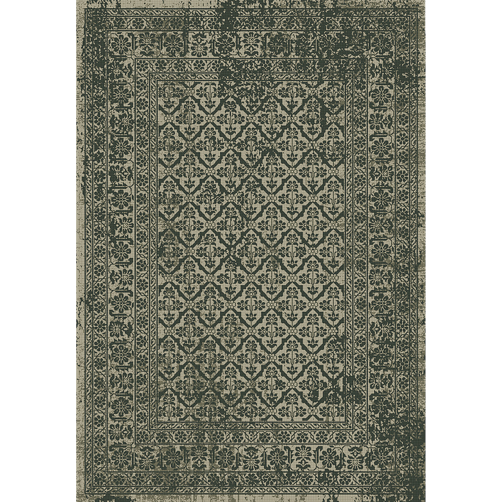 Tapis vintage gris et marron 120x170cm-BRASOV