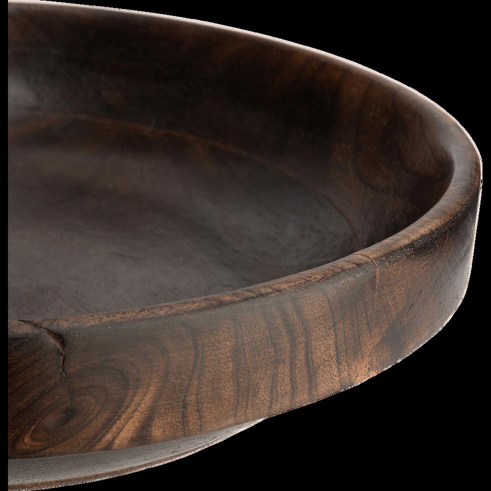 Saladier en bois de manguier D30cm-CREPUSCULE