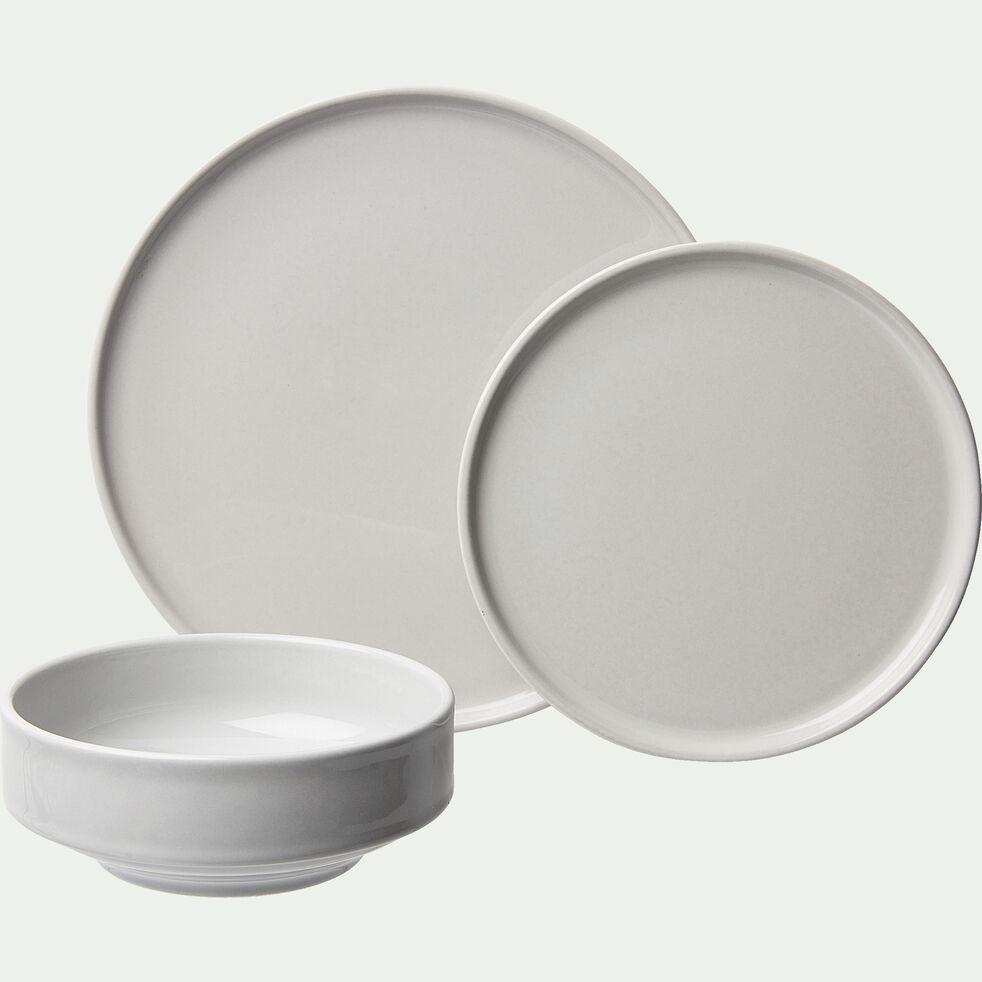 Coupelle en faïence gris borie D15,5cm-VADIM