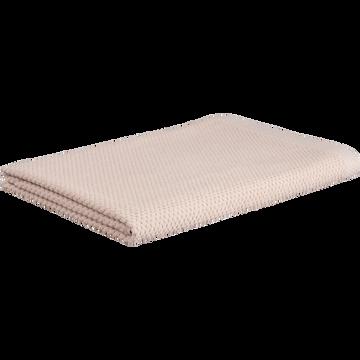 Drap de bain en coton 100x150cm rose-PIANO